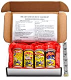 Obie-Cue's Texas BBQ Rub Gift Box, 4 bottles - BBQ Legend Assortment (Sweet 'n Heat, Celerbration, Sunshine & BBQ Bomber)