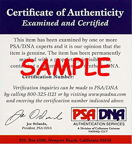 CHARLES CHUB FEENEY Signed PSA DNA CERT National League Check Authentic Autographed