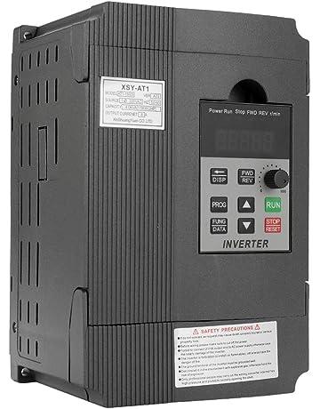 Festnight VFD universal Controlador de velocidad de frecuencia 2.2KW 12A 220V Motor de CA Monofásico