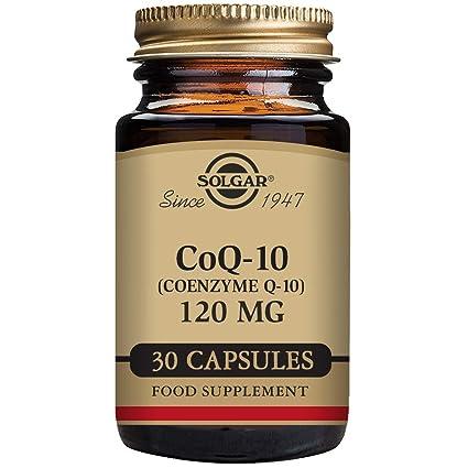 Solgar CoQ-10 (Coenzima Q-10) 120 mg Cápsulas vegetales - Envase