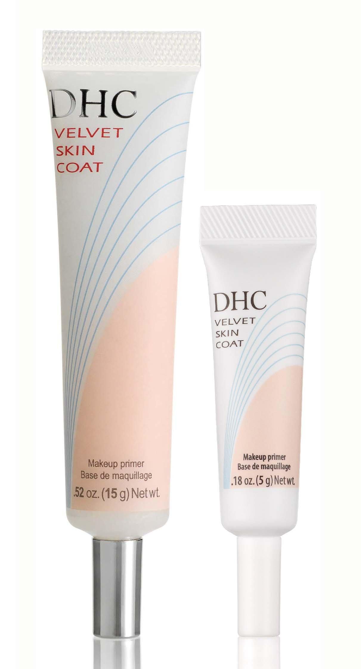 DHC Velvet Skin Coat, 0.52 oz. Net wt. & Velvet Skin Coat Travel Size, 0.18 oz. Net wt.