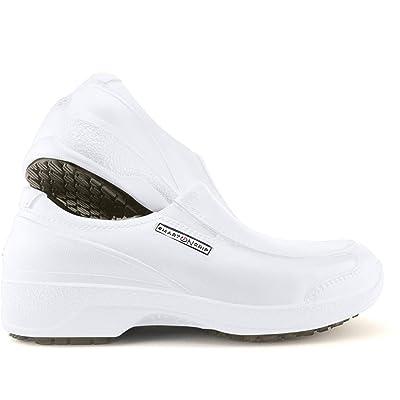 SMART ON GRIP Safety Toe Cap Shoes for Women - Non Slip Waterproof Professional Composite Toe Cap Shoes: Shoes