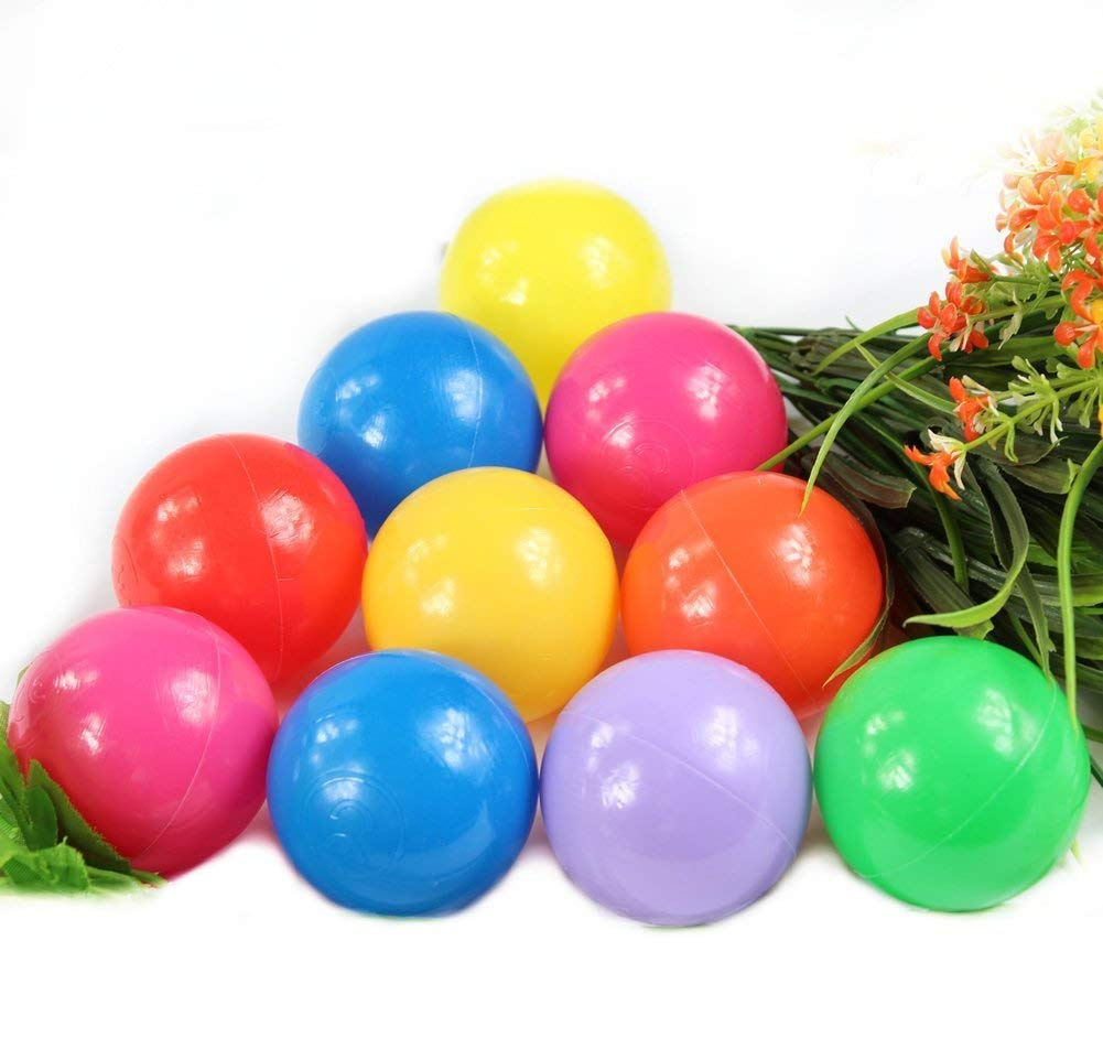 200 pi/èces de balles de Billard color/ées pour b/éb/é Enfants Enfant Jouet int/érieur et ext/érieur /étanche Fun Balls