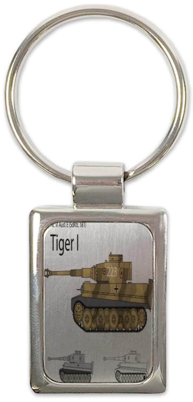 Llavero Militar Tanque Tiger impreso: Amazon.es: Coche y moto