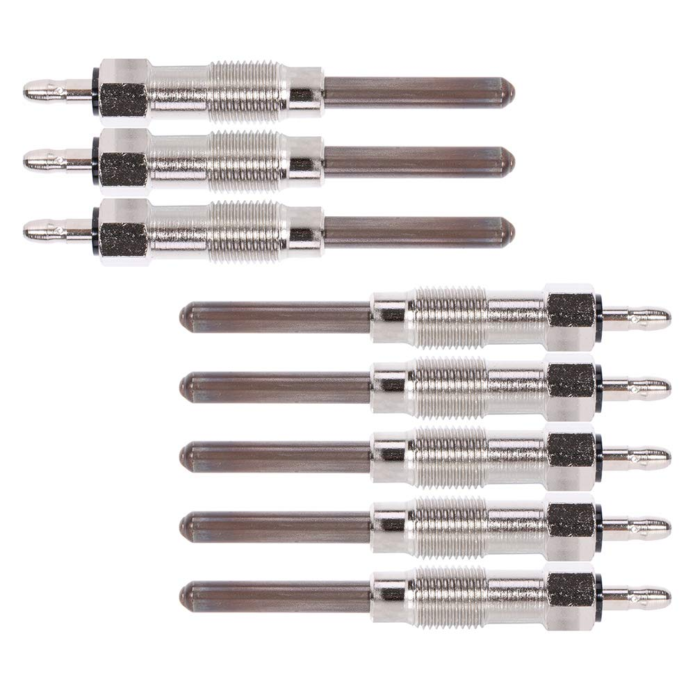 SCITOO 8Pcs of Diesel Glow Plugs Compatible with 1992-2001 AM General Hummer