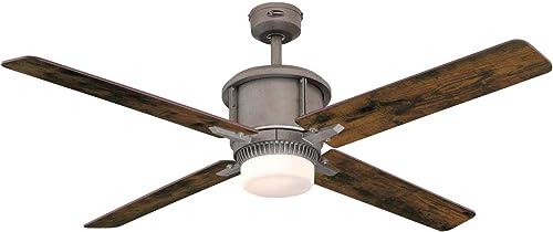 Westinghouse Lighting 7220200 Cliff 56-Inch Industrial Steel Indoor