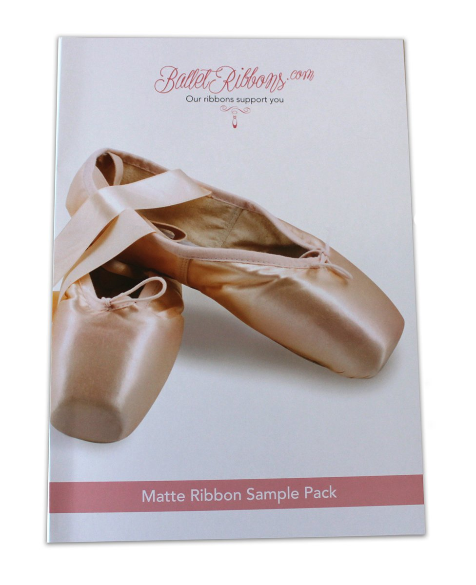 Ballet Ribbons ballet shoe stretch ribbon - Matte Ribbon Sample 4 Pack by Ballet Ribbons
