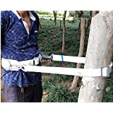 HUAWELL Safety Belt with Adjustable Lanyard, Tree Climbing Construction Harness Protective Gear, Personal Protection…