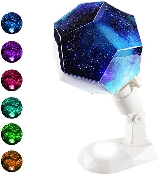 Lucklight Proyector De Luz Nocturna para Niños Proyector De Luz De ...