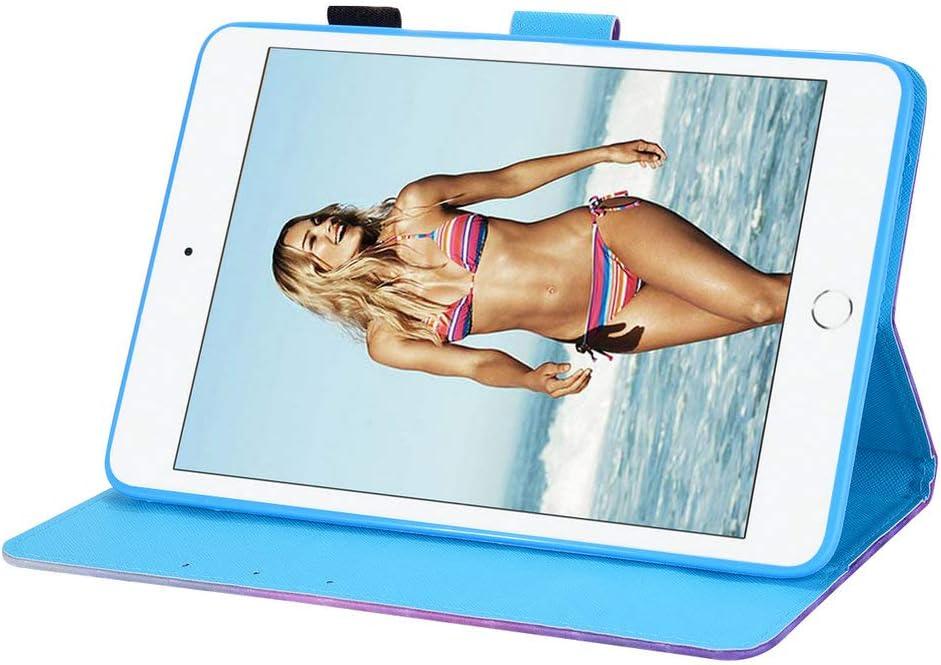 Coopay Compatible with Housse iPad Mini 5 2019 Pochette Animaux Tigre Blanche Enfant Rabat Clapet Etui Cuir PU et Silicone Souple Antichoc Coque de Protection Gar/çon Portable Tablette Accessoires
