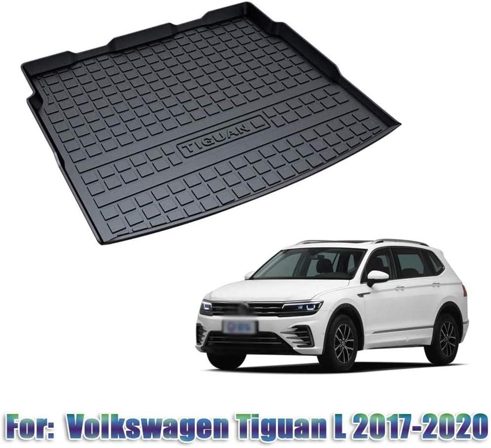 Washable BTSDLXX Car Cargo Liner Boot Tray Rear Trunk Cover Storage Mat Non Slip for Volkswagen VW Tiguan//Tiguan L Floor Carpet Kick Protection Pad Waterproof