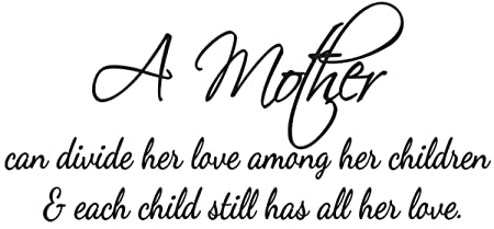 Vinyl Wall Art Love Decal A Mother Love Her Children Wall Quotes