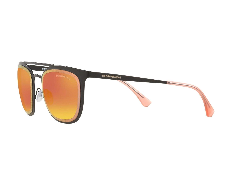 7dbfe6f6e Amazon.com: Emporio Armani EA2069 30146Q Matte Black EA2069 Square  Sunglasses Lens Category: Emporio Armani: Clothing