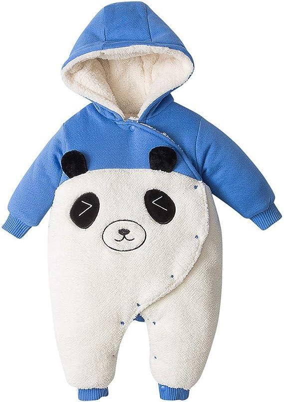 Pyjama Ropa de bebé para niños y niñas, mameluco con capucha ...
