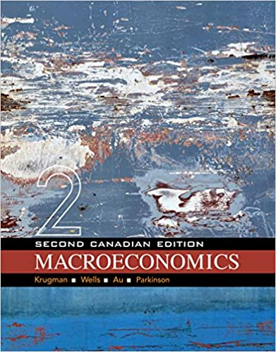 Macroeconomics, 2nd edition (in modules) by paul krugman, robin.