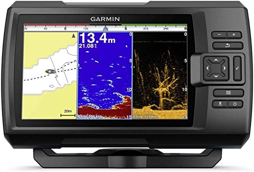 Garmin SONDA GPS Striker Plus 7CV GPS Integrado MAPAS Quickdraw Contours SONDA Chirp CLEARVÜ con TRANSDUCTOR GT20-TM: Amazon.es: Electrónica