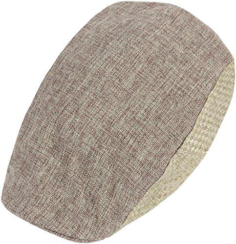 RaOn-G83-newsboy-Cap-Daily-Irish-Hemp-Straw-Summer-Cool-Plus-Big-Size-XL-XXL-Hat