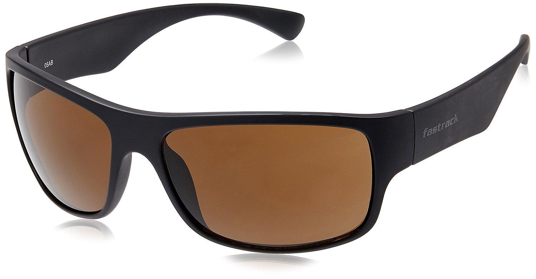 Fastrack Wrap Sonnenbrille p192br2: Amazon.de: Sport & Freizeit