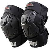 Crazy Al's Cak Rodilleras para motocicleta, motocross, carreras, equipo de protección, rodilleras acolchadas