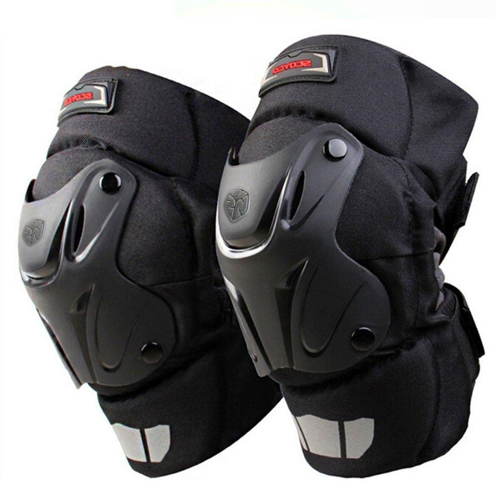 Crazy AL 'S ® CAK Knie Schutz Motorrad Motocross Racing Knie Wachen Pads Hosenträger schutzausrüstungen schwarz Crazy Al's CA-SCOYCO-K15-2