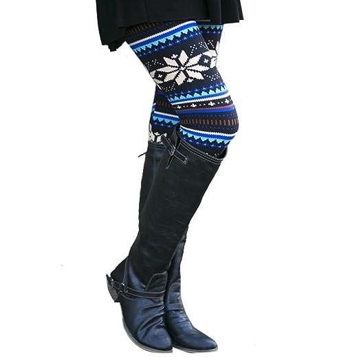 8b60da6e61fed3 Perman Casual Women Skinny Geometric Print Stretchy Jegging Pants Slim  Leggings (S, Blue A