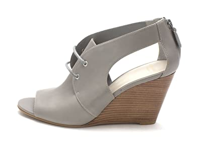 Cole Haan Womens CH1883 Open Toe Casual Mule Sandals Chelsea Grey Size 60