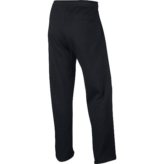 e8a0f9e49 Nike Men's Sportswear Open Hem Club Pants, Dark Grey Heather/White, X-