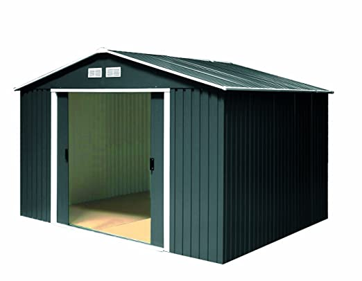 Tepro metal dispositivos Casa Colossus, 10 x 8, antracita: Amazon.es: Jardín