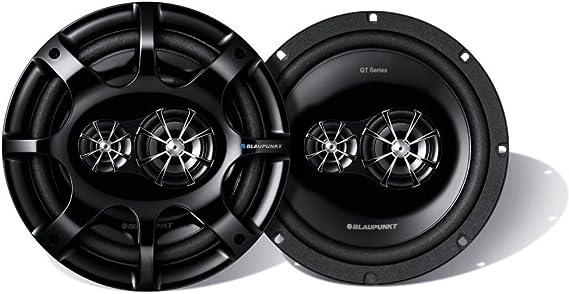 Blaupunkt Gtx 803 Mystic Series 8 Inch 3 Way Triaxial Car Speakers 260 Watts Black
