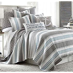 61fE0FXLDQL._SS300_ Coastal Bedding Sets & Beach Bedding Sets