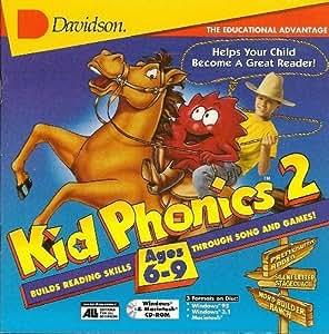 Amazon Com Kid Phonics 2 Ages 6 9 Davidson Software