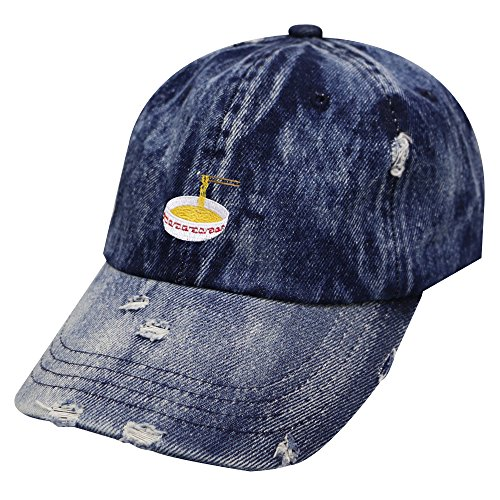 City Hunter C104 Noodles Cotton Baseball Dad Caps 17 Colors (Vintage Navy)