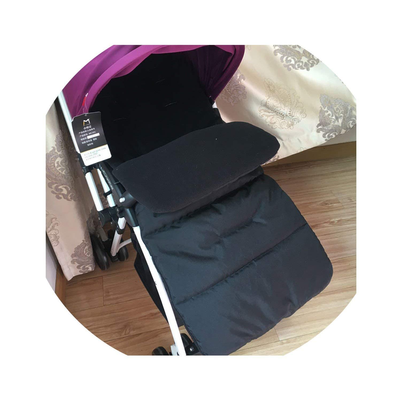 SP WHY 1pc/lot Winter Autumn Baby Infant Warm Sleeping Bag Baby Stroller Sleeping Bag Waterproof,Black,6M