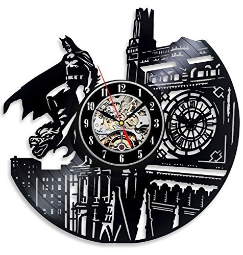 Vinyl Evolution Batman Dark Knight Wall Clock