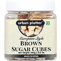Urban Platter European Style Brown Sugar Cubes - 350 Grams