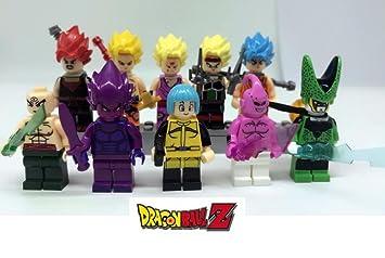 Lot Mini Figurine Dragon Z 9pcs De Ball Cell Channeltoys Vegeta WH2ID9E