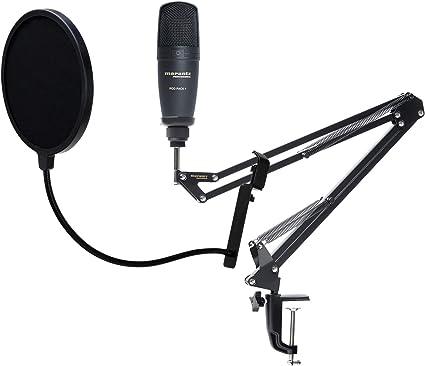 Marantz Pod Pack 1 - Micrófono de estudio (incluye popkiller ...