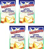 Paneangeli: ''Lievito Pane degli Angeli'' Vanilla Yeast - 16gr Packages (Pack of 4) [ Italian Import ]