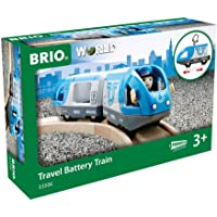Brio 33506 Travel Battery Train, 3 Pieces Train
