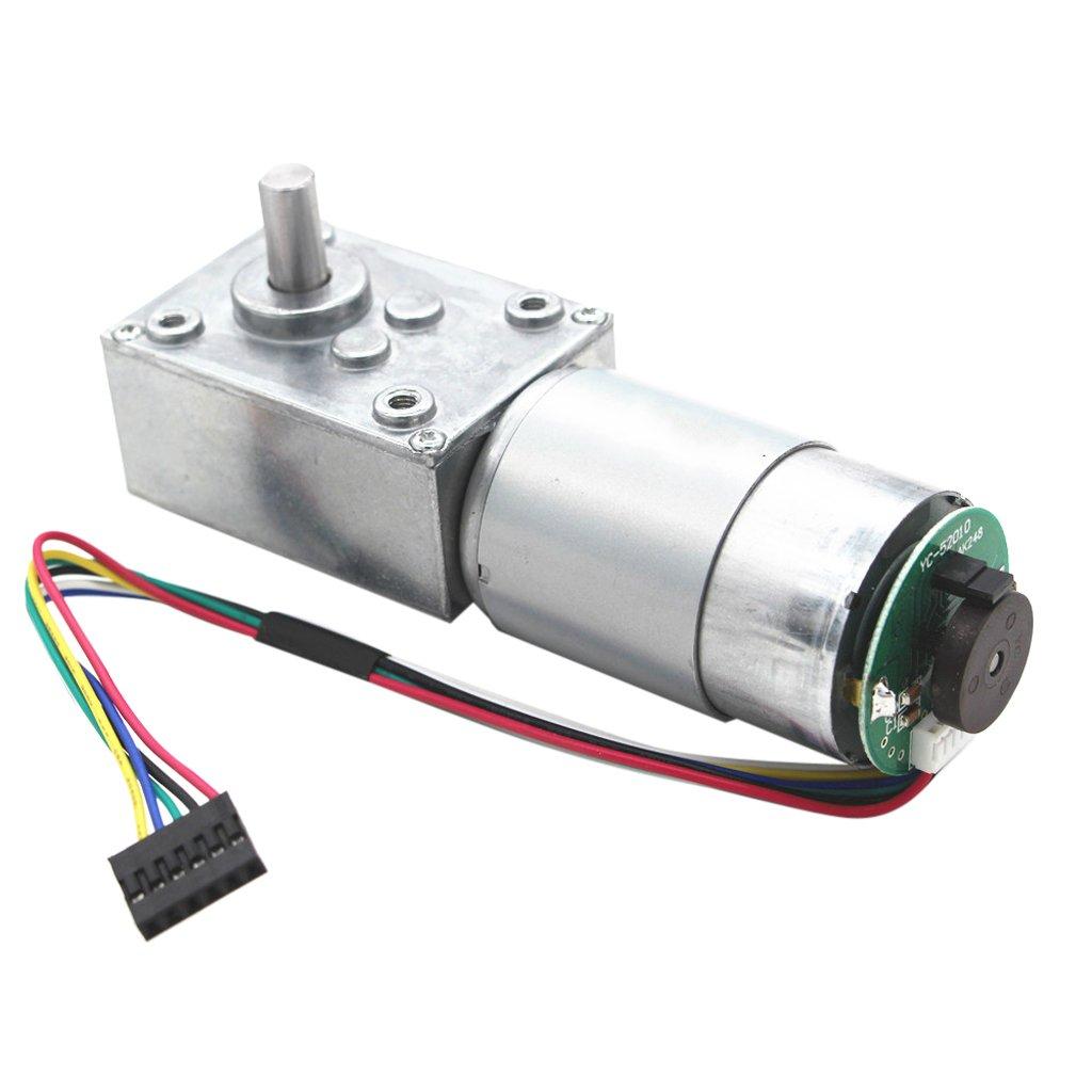 Sharplace R/éducteur /à Engrenages Turbo Moteur /à Courant Continu Rideaux de T/él/écommande D/échiqueteurs de Papier Machines /à Copier 12V 160rpm