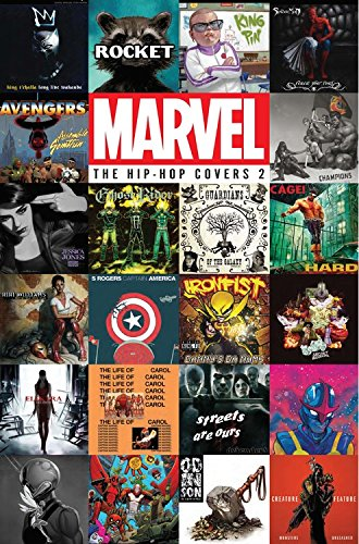 Marvel: The Hip-Hop Covers Vol. 2 Marvel Heroes And Villains