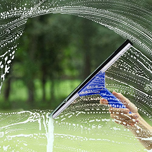Masthome Squeegee and Microfiber Window Washer Squeegee Sets with Adjustable Handles Perfect for Window&Car Cleaning by Masthome (Image #5)
