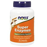NOW Supplements, Super Enzymes, Formulated with Bromelain, Ox Bile, Pancreatin and...