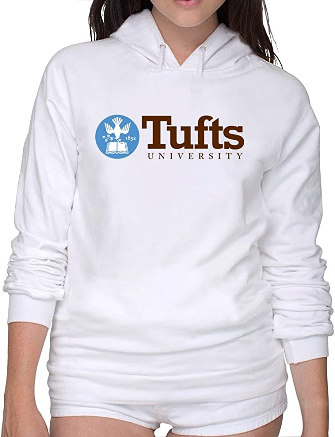 Geeboomee Tufts University Established 1852 Mens Long Sleeve Crew Neck Sweatshirt Gray