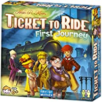 Ticket to Ride First Journey Strategy Game