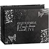 Pioneer Photo Albums T-12CHLK/R 3-Ring Printed Chalkboard Design Binder Remember Scrapbook, 12 by 12-Inch