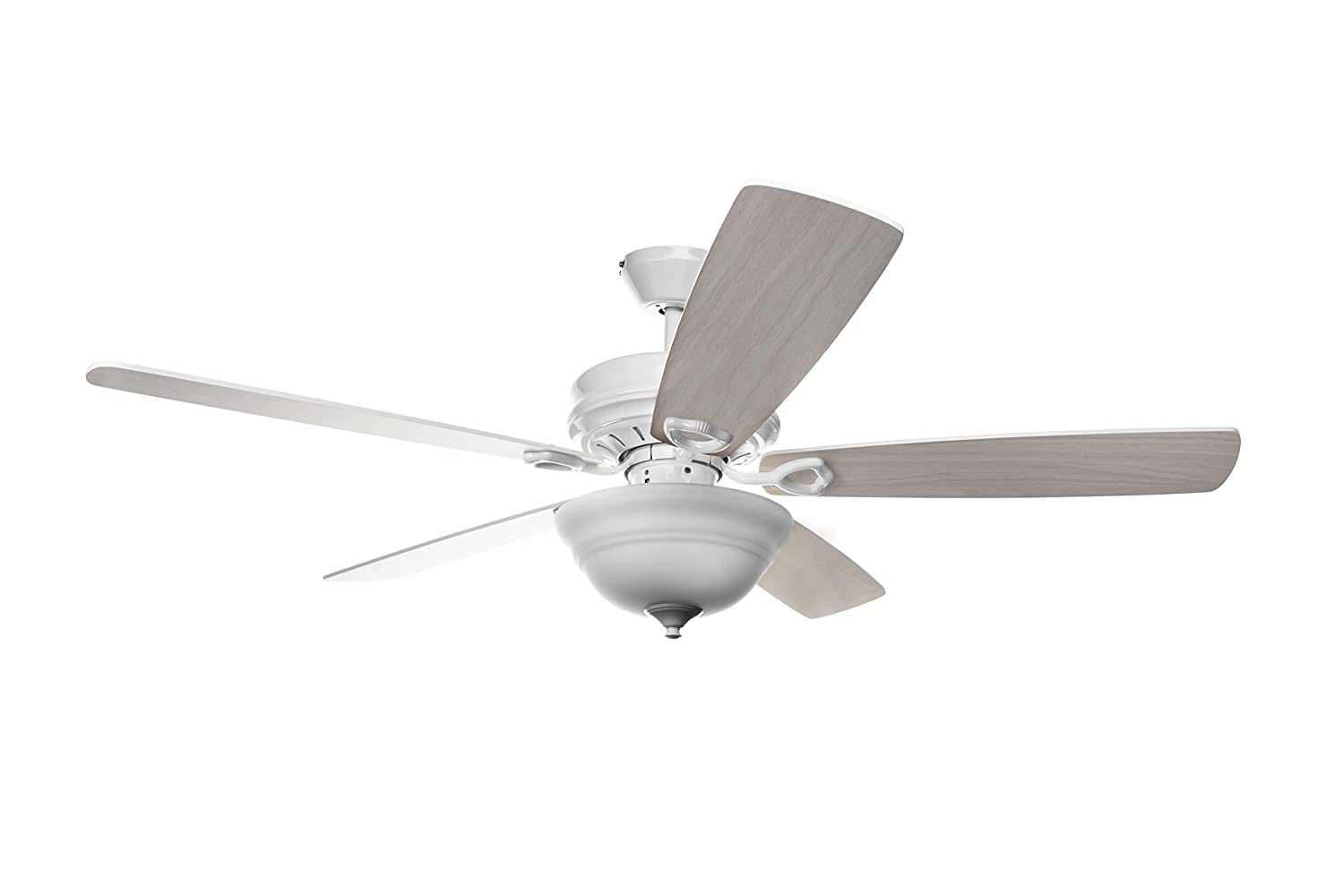 Hyperikon 52 Inch Ceiling Fan With Remote Control White Ceiling Fan