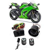 Alarme Para Moto Com Antifurto e Bloqueador Sistec SXT 386