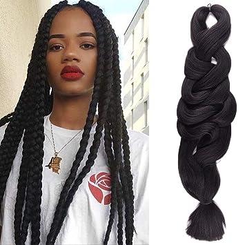 Professional Sale Young Look 165g Jumbo Braids Braiding Hair Ombre Kanekalon Braiding Hair Synthetic Hair Extensions Crochet Braids 33# Jumbo Braids