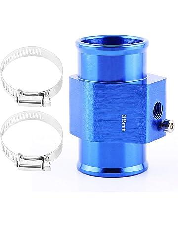 VGEBY Temperatura del agua del automóvil Temperatura Junta de tubo de la junta Sensor Radiador Manguera